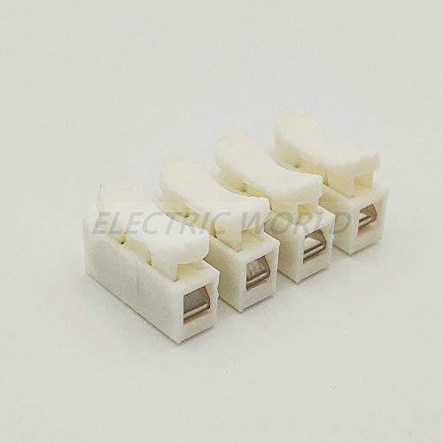 Conectores de alambre PCT-102 PCT-106 PCT-108 PCT-602 Empuje en el cable enchufable Cable de cableado Conector de alambre Conductor PCT Conexión de luz CH-4 10pcs