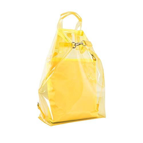Jost Transparent X-Change (3in1) S 2tlg Sac à dos jaune