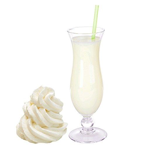 Sahne Creme Molkepulver Luxofit mit L-Carnitin Protein angereichert Wellnessdrink Aspartamfrei Molke (1 kg)