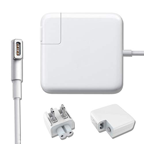 Mac Book Pro Charger, AC 60W Magnetic L-Tip Magsafe 1 Power Adapter Connector Charger for Mac Book Pro 13-inch(Before Mid 2012 Models)
