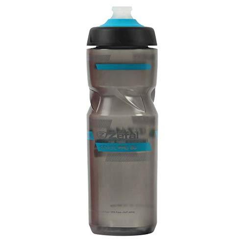 Zefal Unisex– Erwachsene Sense Pro 80 Trinkflasche, ra.gra(Cyan bl/gr), 800ml