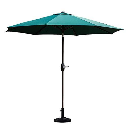 YXZQ 3m Außenschirm Gartenschirm Sonnenschirm Markt Outdoor Tischschirm Sonnenschirm Terrassenschirm Druckknopf Terrasse Sonnenschirm Sonnenschirm LDFZ