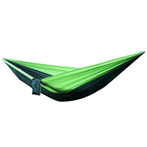 SHGK Hamac extérieur Parachute Tissu Loisirs Hamac Rollover Prévention Camping Unique Portable Respirant Ultra-Mince