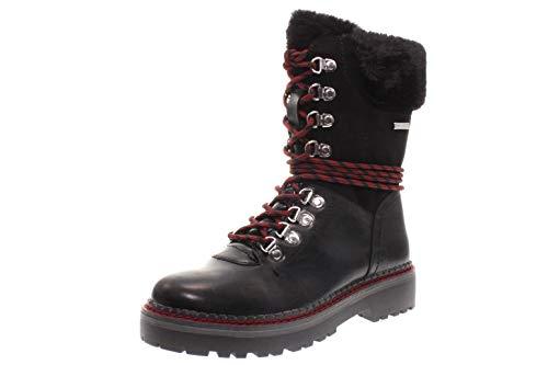Tamaris 1-26982-33 Damen Stiefel Stiefeletten Warmfutter, Schuhgröße:41 , Farbe:Schwarz