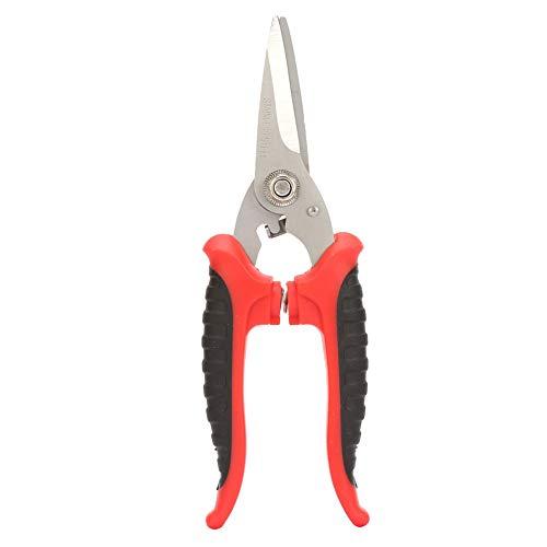 SUYANG 200 Mm 3CR13 Steel Electrician Scissors Tijeras De Plástico Rectas Multifuncionales