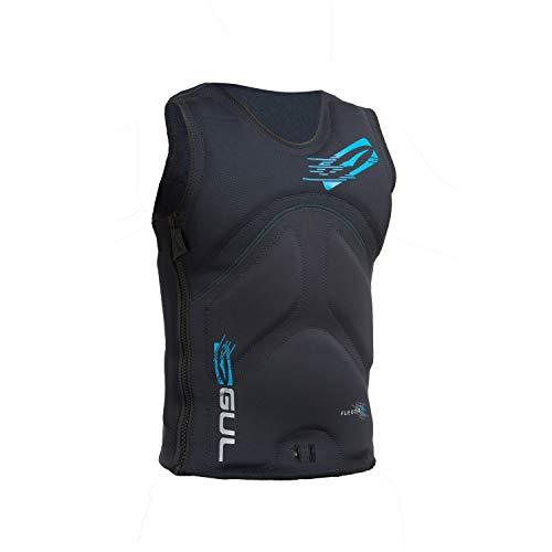 Read About Gul Flexor III Impact Vest 2017 - Black/Crip XL