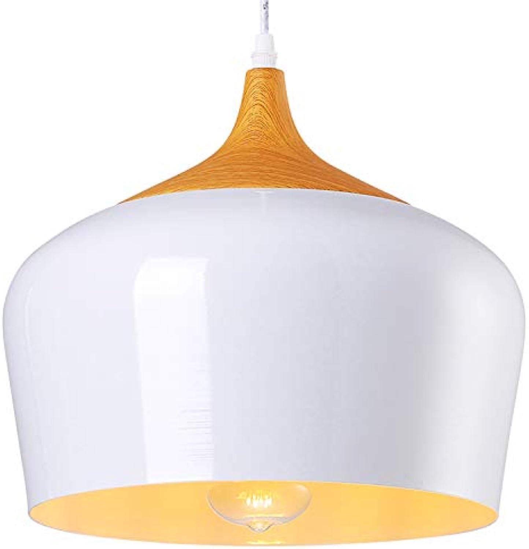 Einstellbare Pendelleuchte, Kuppel-Kronleuchter, Metall-Deckenleuchte für Esszimmer, Küche Wohnzimmer Esszimmer Bar Leuchte Licht (Farbe   Wei)
