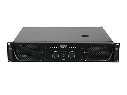 Omnitronic XPA-2700 Endstufe   Stereo-PA-Verstärker mit Limiter, 2 x 1350 W / 4 Ohm, 2 x 1080 W / 8 Ohm   Rackeinbau mit 2 Höheneinheiten