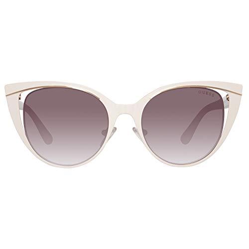 Guess Sun GU7487 21G-51-18-135 Gafas de sol, Blanco (White), 51 para Mujer