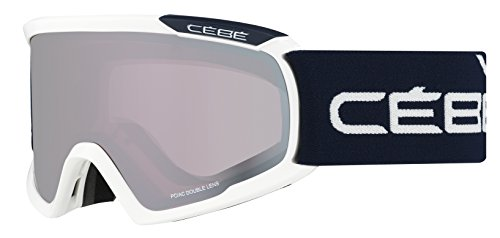 Cébé Skibril Fanatic White/Blue/Light Rose Flash Mirror, L, CBG92