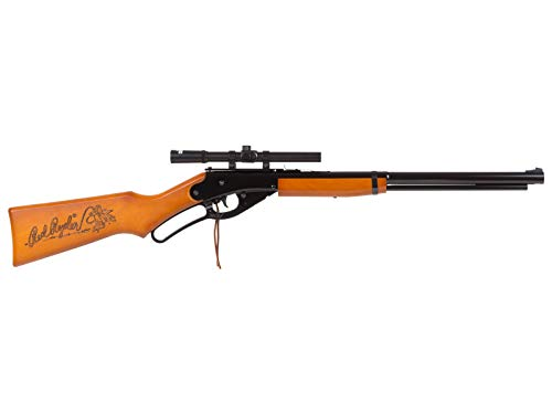 Daisy Adult Red Ryder BB Rifle .177 air Rifle (Scoped Rifle Combo)