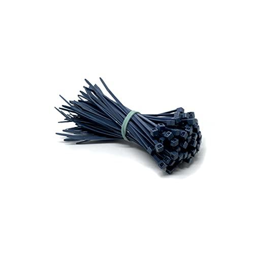 WeltiesSmartTools - Bridas detectables (360 x 7,5 mm, 100 unidades, para farmacéuticos/industria alimentaria, detectables de metales, color azul, no reutilizables)