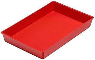 Faibo 755035 - Bandeja multiuso, color rojo