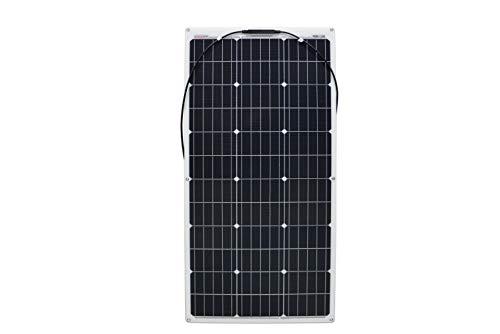 enjoy solar® ETFE Marine 100W 12V semiflexible Módulo solar celdas PERC ideal para caravana yate barco