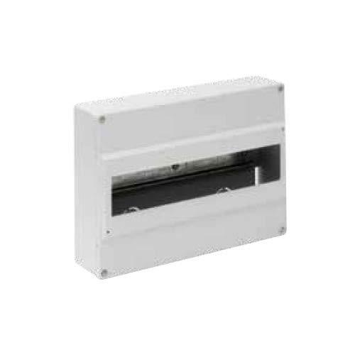 Solera 703B - Caja para distribución. De 280x192x68. Hasta 14 elementos. Color blanco. Superficie.