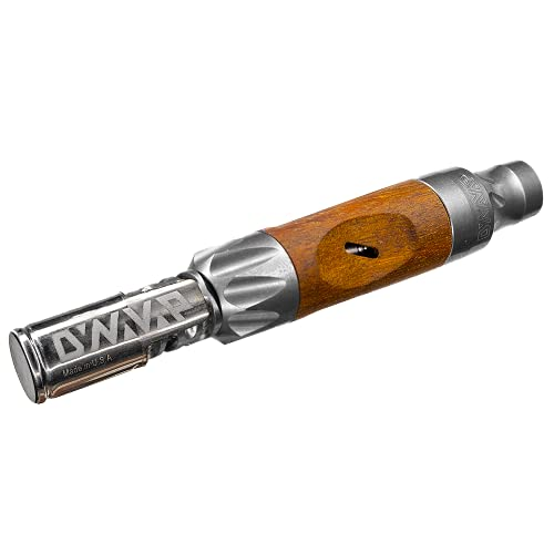 DYNAVAP - The VonG 2021 - Dark Wood and Titanium + Slim Stash.