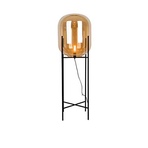 Lámparas de Pie Lámpara de Piso Luz de Pie Nordic Art Bola de cristal Lámpara de pie de hierro forjado Personalidad creativa Simple Estudio moderno Lámpara de pie dormitorio Lámparas de pie Iluminació