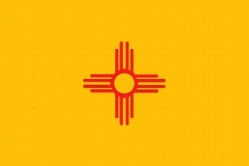 U24 Fahne Flagge New Mexico Bootsflagge Premiumqualität 60 x 90 cm