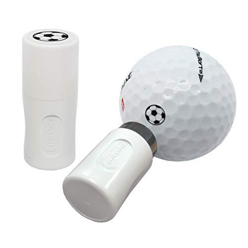 Asbri - Timbro per palla da golf, colore: Nero
