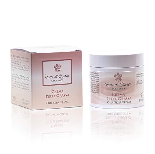 Crema Para La Piel Grasa - Los Ingredientes Ayudan A Reducir La Producción De Sebo, Dando A La Piel Un Antibrillo Que Dura Todo El Día - 50 ml