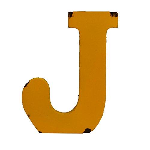WINGONEER Multi-Color Wood Alphabet Letter Sign Name Kids Room Wedding Nursery Decoration - J