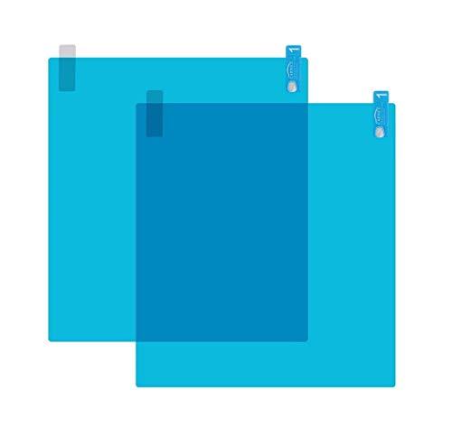 takestop® 2 regenbescherming voor achteruitkijkspiegel 22 x 14 cm auto Ws1434 waterdichte bescherming tegen vlekken Transparant Universele lijm regenbescherming lijm