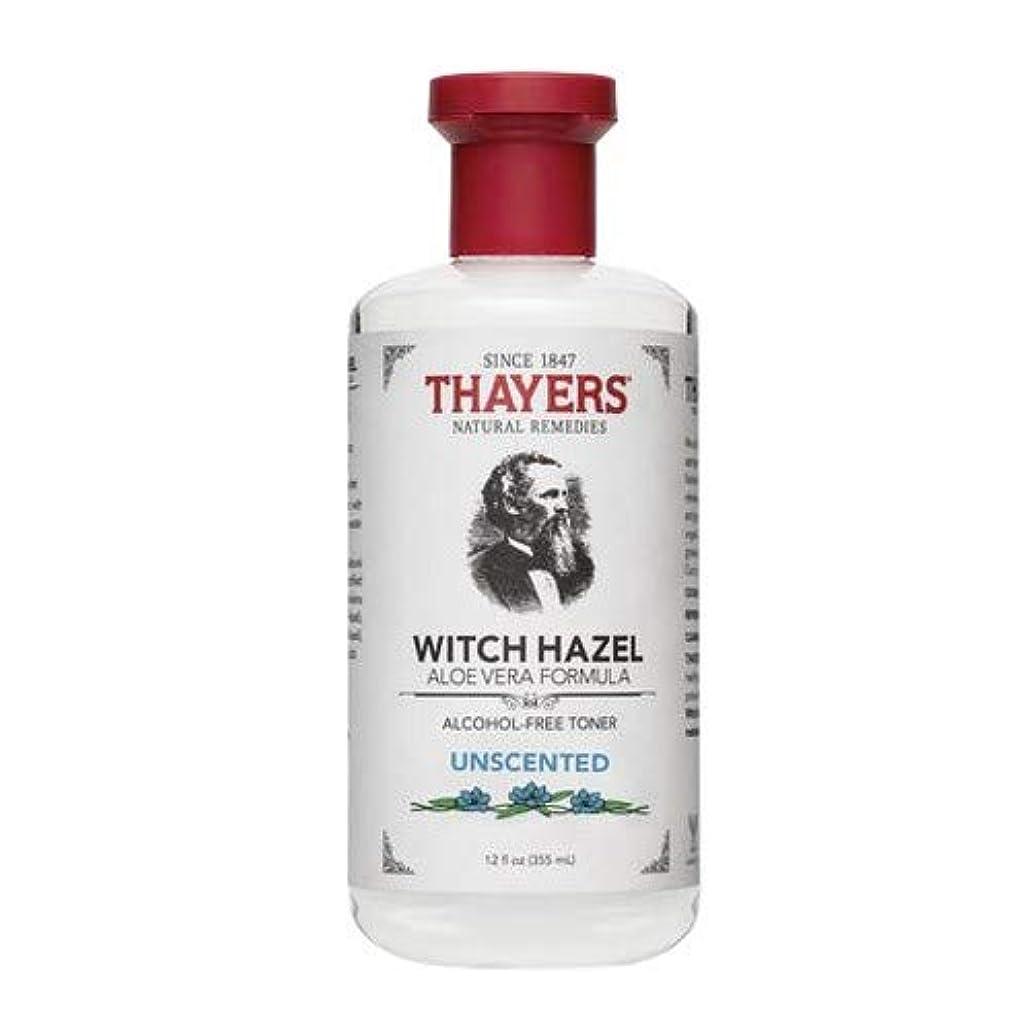 ハンバーガー軸徹底的にThayersアルコールフリー無香料ウィッチヘーゼルトナー( 12oz。)