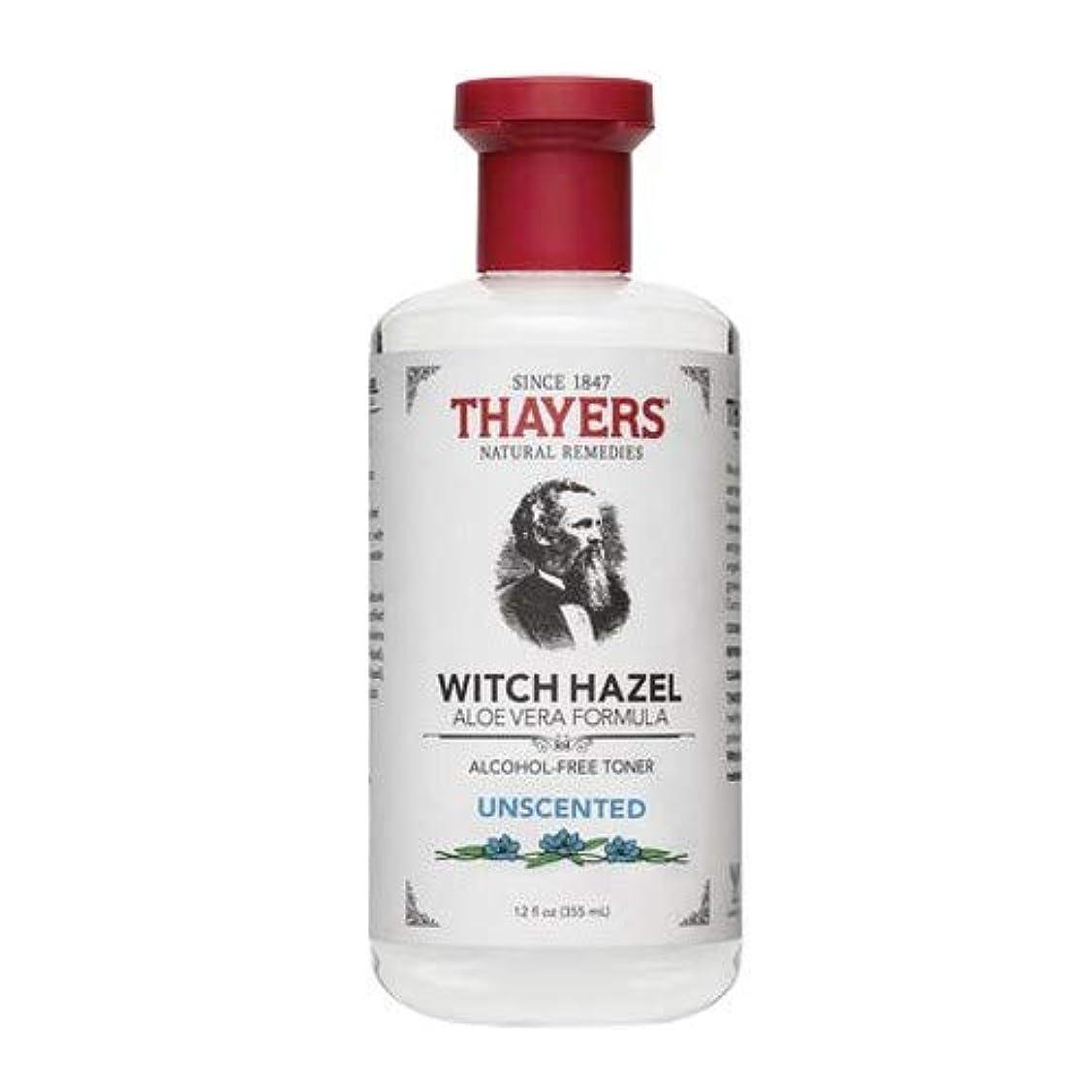 リレーどこかサイクルThayersアルコールフリー無香料ウィッチヘーゼルトナー( 12oz。)