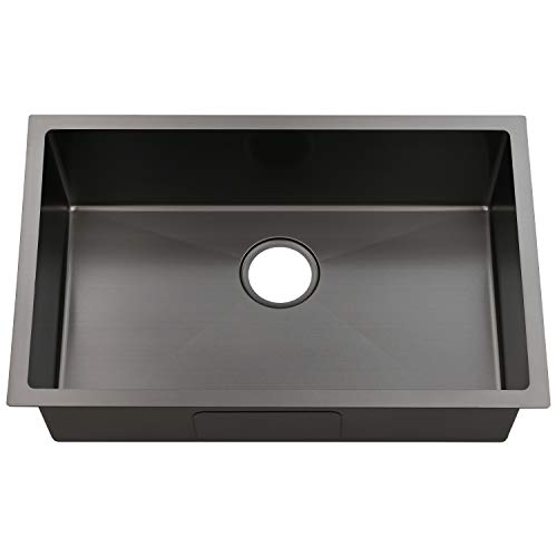 Ufaucet Commercial 28 Inch Extremely Durable Dark Grey Black...