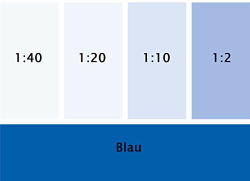 Silikat Vollton- & Abtönfarbe Blau 250 ml