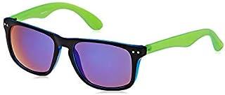 نظارة شمسية للجنسين مقاس 52 ملم من تي اف ال - ازرق