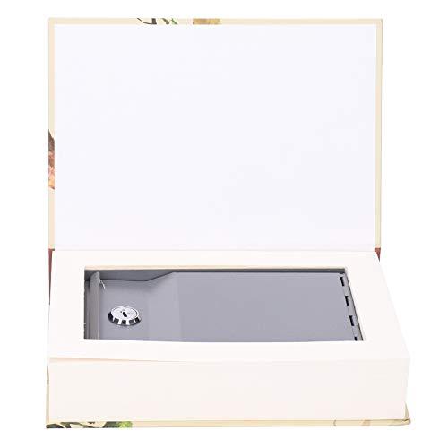 Caja de seguridad para libros de simulación Caja de almacenamiento de seguridad para joyas con tarjeta bancaria de efectivo innovadora con seguridad para llaves Caja de seguridad para efectivo con un