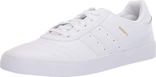adidas Skateboarding Busenitz Vulc Footwear White/Footwear White/Gold Metallic 8