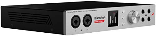 Antelope Audio Discrete 4 Synergy Core Thunderbolt and USB Audio Interface with FPGA + DSP FX Processing