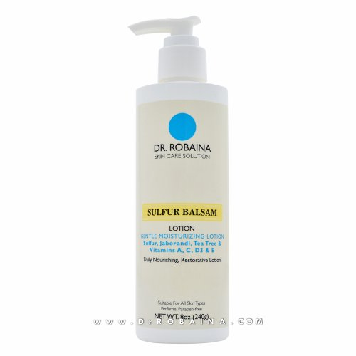 Dr. Robaina Skin Care Solution SULFUR BALSAM Lotion Gentle Moisturizing...