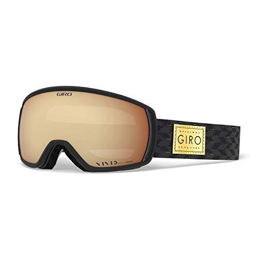 Giro Skibrille FACET, black gold shimmer, M, 300066-003