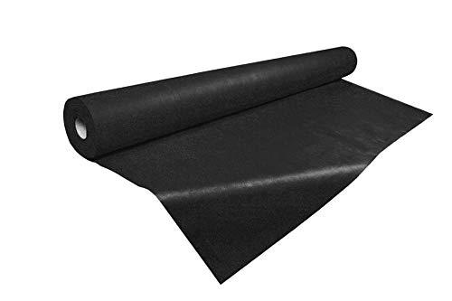 Tejido sin tejer,  50 metros de Tejido no tejido 55gr./m,  Varios colores,  TST,  TNT (Negro)