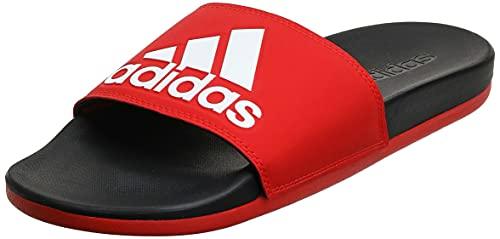 Adidas Adilette Comfort, Zapatos de Playa y Piscina Hombre, Rojo (Red F34722), 44.5 EU