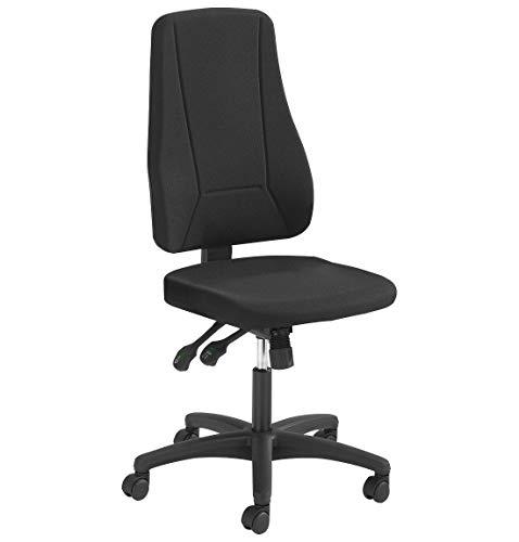 Prosedia Bürostuhl YOUNICO plus 8, hohe Rückenlehne, schwarz