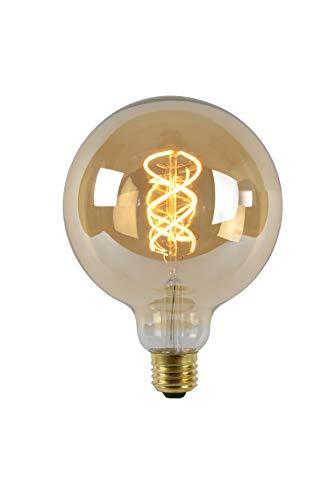 Lucide LED Bulb - Glühfadenlampe - Ø 12,5 cm - LED Dim. - E27 - 1x5W 2200K - Amber