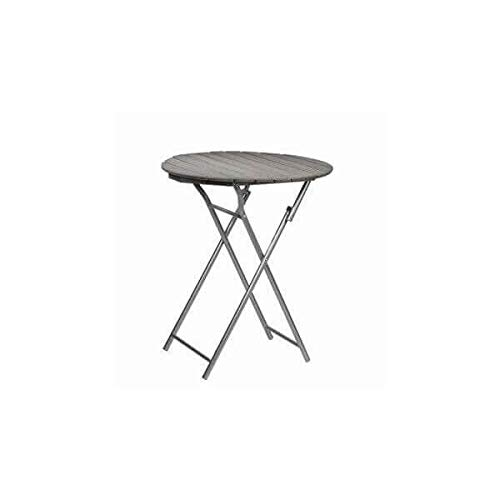 PLY - Table Pliante Bois/Acier