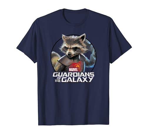 Marvel Rocket Guardians of the Galaxy Circle Graphic T-Shirt