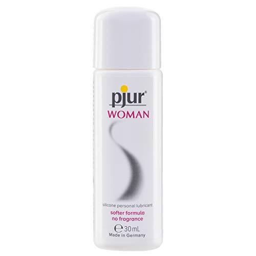 pjur WOMAN - Gleitgel für Frauen auf Silikonbasis - für prickelnden Sex und längeren Spaß - optimal für empfindliche Haut (30ml)