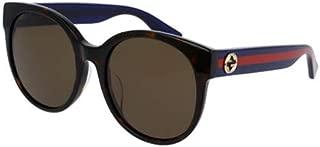 Gucci Butterfly Women's Sunglasses - GG0035SA-003-56-16-140mm