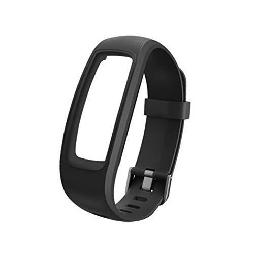 zmigrapddn Uhrenarmbänder für ID 107 107Plus HR Pro Lite Smart-Armband for ID107Plus HR/Pro/Lite Black