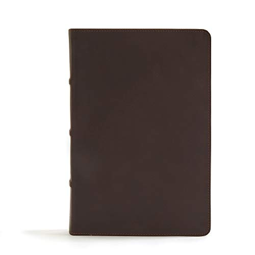 CSB Pastor's Bible, Brown Genuine Leather