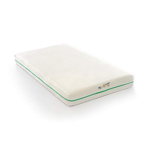 Cheapest Price! Foam Baby Crib Mattress and Removable Cover; Infant/Toddler - White Traditional Micr...