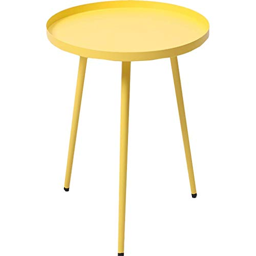 YLCJ Home Products Products Side table Snack Side tables Side tables Side tables for patio, easy assembly Compact in versatile espresso for small yellow space