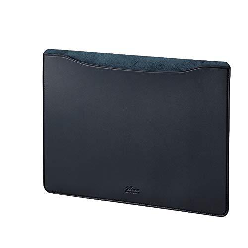 エレコム パソコンケース タブレットケース インナーバッグ MacBook Air, Pro 13inchモデル専用 【2020年11月発売 M1チップモデル対応】 ケース スリーブ レザー ネイビー BM-IBSVM1913NV