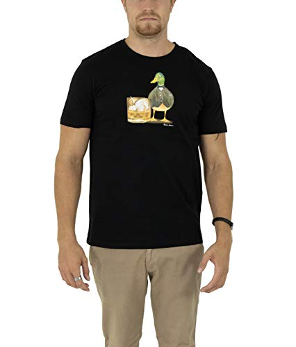 Veneris Milano - Camiseta ajustada para hombre y mujer, 100% algodón negro, blanco y gris M